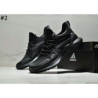ADIDAS ALPHABOUNCE 2019 new men's shock-absorbing running shoes #2