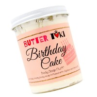 BIRTHDAY CAKE Whipped Body Soap Fluff - Clearance