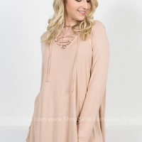 Ballet Blush Strappy Top