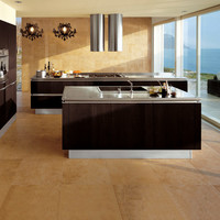 Fitted kitchen without handles IDEA Idea Collection by Snaidero | design Pininfarina
