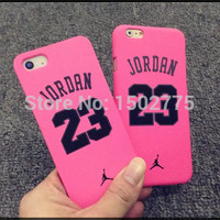 Luxury Basketball champion No 23 Jordan Case for iPhone 5 5s 6 6 Plus Soft Silicon Back Cover Cases free shipping