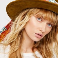 Free People Astral Traveler Suede Hat
