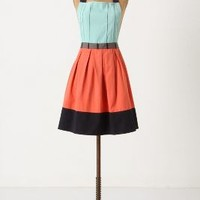 Cuisine Couture Apron by Anthropologie in Turquoise Size: One Size  Aprons