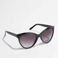UO Oversized Cat-Eye Sunglasses- Black One