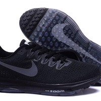 """Nike Zoom All Out Low"" Unisex Sport Casual Fly Line Knit Air Cushion Sneakers Couple Running Shoes"