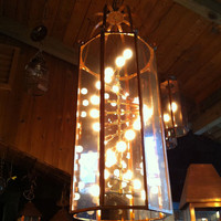 handcrafted copper hanging light by washingtoncopperwork on Etsy