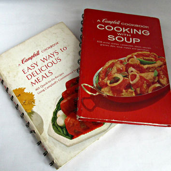 CampbellS Cooking With Soup Easy Delicious Meals 1968 Cookbooks Quick Fix Recipes