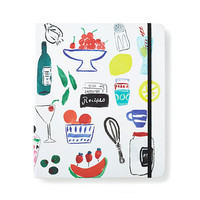 kate spade new york Bella Pantry Recipe Book