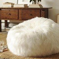 Faux Fur Beanbag - Long Shaggy | Pottery Barn