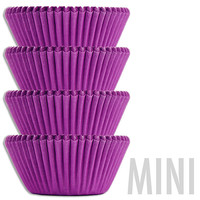 Mini Electric Purple Baking Cups