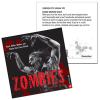 Zombies 2015 Day-to-Day Calendar