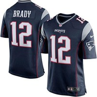 Nike NFL New England Patriots Tom Brady Jersey Navy