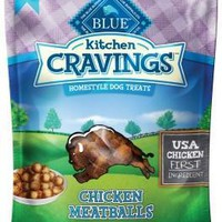 Blue Kitchen Cravings Chicken Meatballs Dog Treats 6 oz