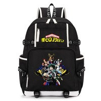 Anime Backpack School kawaii cute Boku no Hero Academia Men Laptop School Bags Backpacks Boys Cartoon My College Hero Backpack Students Children Travel Bag AT_60_4