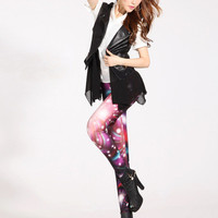 SALE Women Stylish Spandex Cool Galaxy Leggings from Galaxy Clothing & Accessories