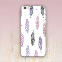 Tribal Feathers Phone Case - iPhone 6 Case - iPhone 5 Case - iPhone 4 Case - Samsung S4 Case - iPhone 5C - Tough Case - Matte Case - Samsung