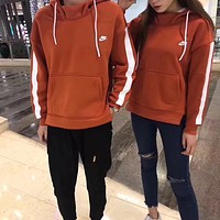 NIKE Woman Men Fashion Hoodie Top Sweater