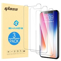 For iPhone XR Screen Protector Tempered Glass (3 Pack)