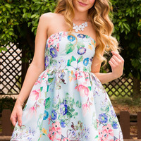 Mary Beth Floral Dress