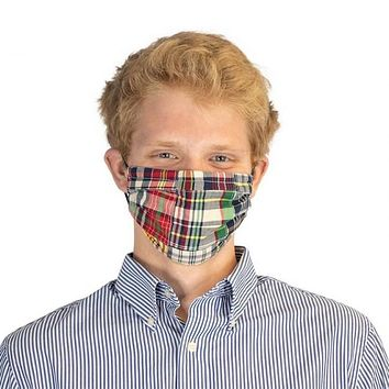 Riverwind Madras Cotton Face Mask by T.B. Phelps