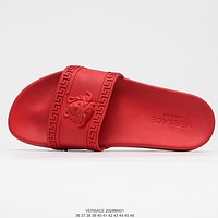 Versace summer slippers soft bottom slippers shoes