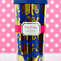 LILLY PULITZER: Thermal Mug - Tusk in Sun