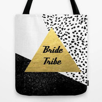 Bride Tribe custom tote bag,customized tote, bridesmaid gift, bridesmaid set, bridesmaid proposal, personalized gift, trendy tote bag