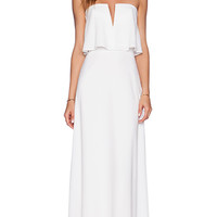 BCBGMAXAZRIA Alyse Dress in White