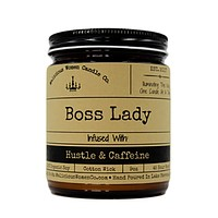 Boss Lady- Infused With Hustle & Caffine Candle