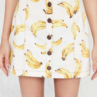 Cooperative Nanners Button-Front Skirt - Urban Outfitters