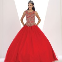 Long Prom Dress Quinceanera Ball Gown