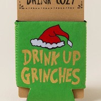 Drink up grinches coozie