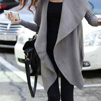 Loose Knit Shawl Cardigan Jacket BBCIB from MegaFashion