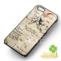 Lonely Mountain Map-1naa for iPhone 6S case, iPhone 5s case, iPhone 6 case, iPhone 4S, Samsung S6 Edge
