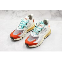 Nike Air Max 270 React White/ Red Sneakers