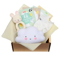 A Little Lovely Company Baby gift box: Welcome little baby