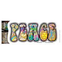 Cosmic Peace Bumper Sticker on Sale for $2.99 at HippieShop.com