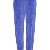 VELOUR JOGGERS WITH EMBROIDERY – New Girl Order