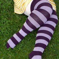 Extraordinary Striped Thigh Highs - Sock Dreams