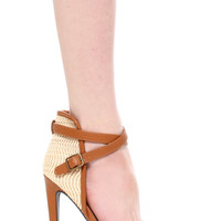 Interest Ankle Cuff Sandals