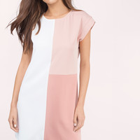 Night And Day Colorblock Shift Dress