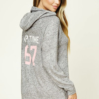 Nap Time PJ Hooded Sweater