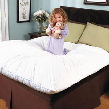 Bedding Featherbed Queen All Natual Goose Down Feather Mattress Covers Padding