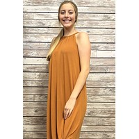 Summer Breeze Maxi- Rust