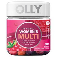 Olly The Perfect Women's Multi-Vitamin Blissful Berry Gummies - 90ct