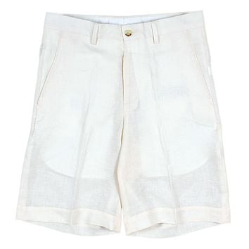 The Broad Street Linen Short by Country Club Prep