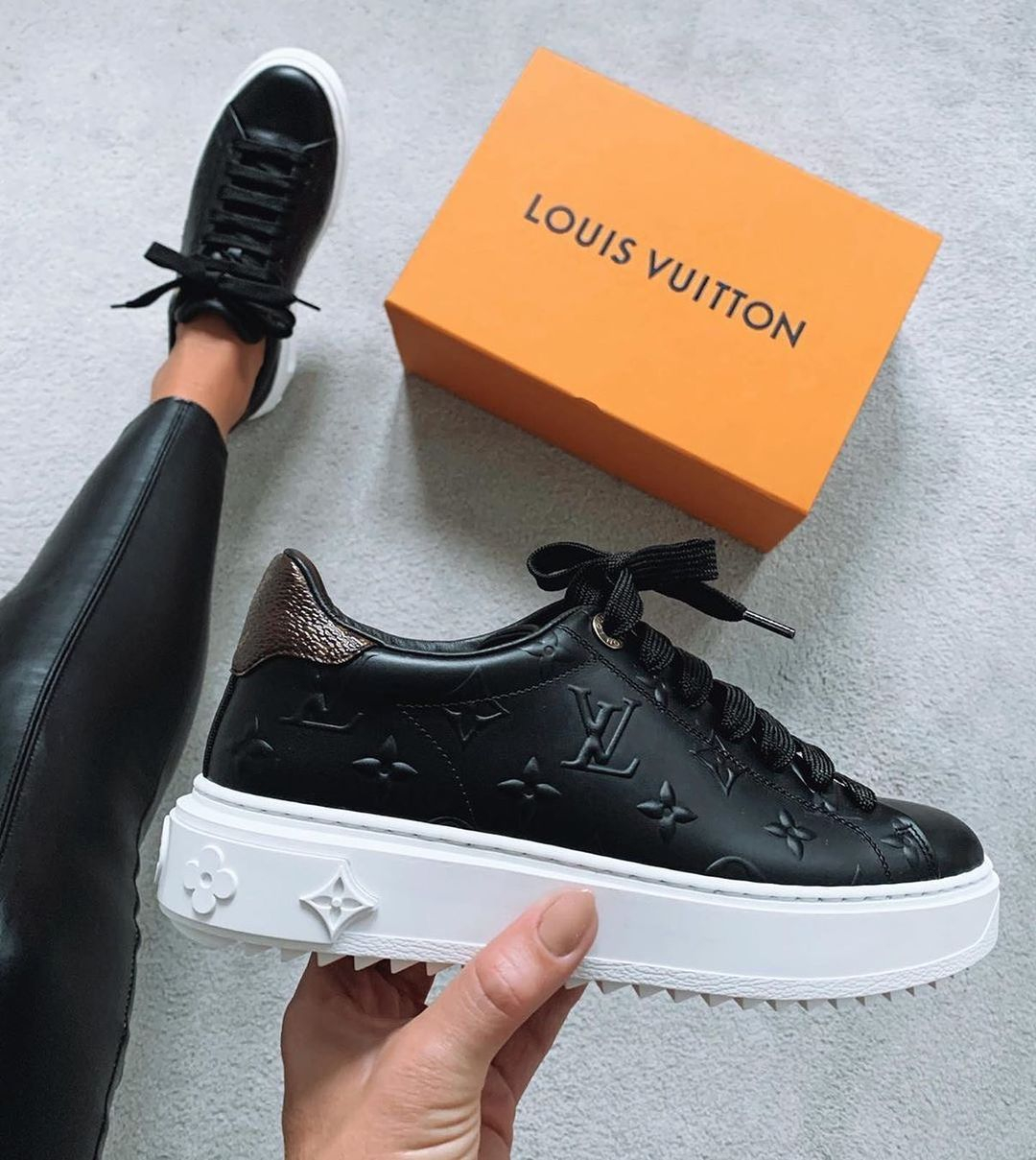 Image of Louis Vuitton LV Time Out Sneaker