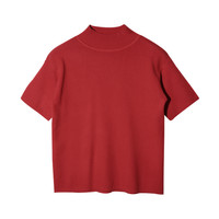 Mock Neck Short Sleeve T-Shirt