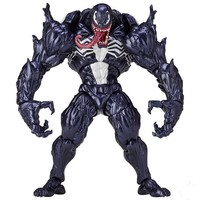 Anime Spider-man Figure Revoltech Spiderman Venom PVC Action Figures Collectible Model Toys