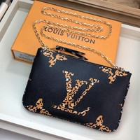 Kuyou Lv Louis Vuitton Gb19710 M67561  Small Leather Goods Pouches Pochette Double Zip 20.0 X 12.5 X 3.0 Cm